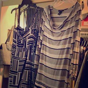 Simple nice cozy dresses size L fit